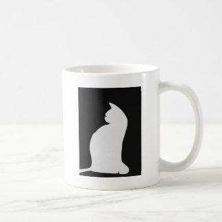 Pretty Kitty Basic White Mug