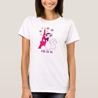 Pretty Kitty Paris T-Shirt
