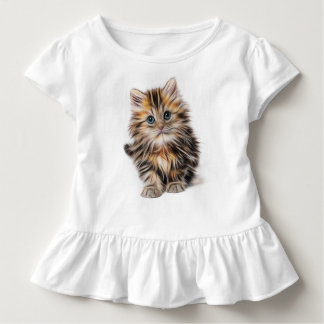 Pretty Kitty Toddler T-Shirt