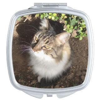 Pretty Kitty Travel Mirrors