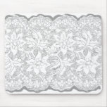 Pretty lace drawing mouse pads