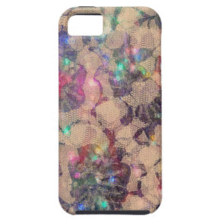 Pretty Lace Roses Case For The iPhone 5