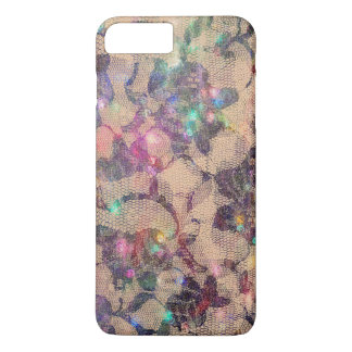 Pretty Lace Roses iPhone 8 Plus/7 Plus Case