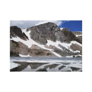 Pretty Lake Reflection Canvas Print