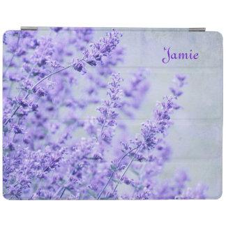 Pretty Lavender Flowers iPad Cover