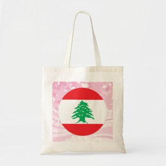 Pretty Lebanese Souvenir Budget Tote Bag