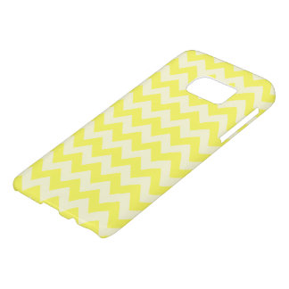 Pretty Lemon Yellow Zig Zag Pattern