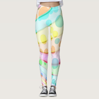 pretty light circles leggings