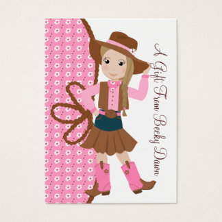 Pretty Lil' Cowgirl Business Card
