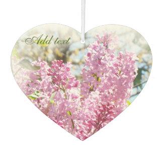 Pretty lilacs air feshener
