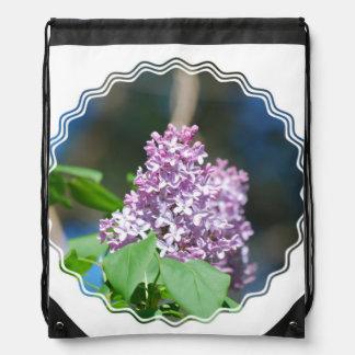 Pretty Lilacs Cinch Bag
