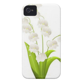 Pretty Lily of the Valley Case-Mate iPhone 4 Case