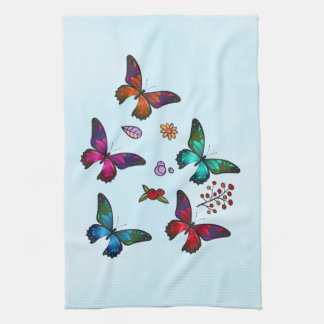 Pretty Little Butterflies Tea Towel
