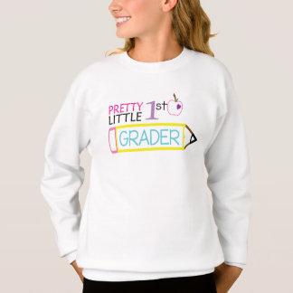 Pretty Little First Grader Sweatshirt
