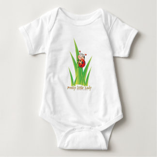 Pretty Little Lady Ladybug Baby Bodysuit