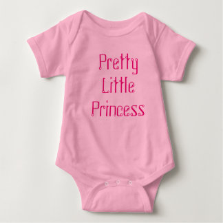 Pretty Little Princess One Piece Baby Bodysuit