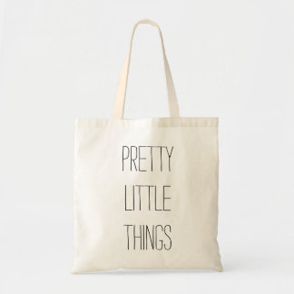 Pretty Little Things Tote Budget Tote Bag