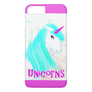 Pretty Magical Mythical Unicorn Graphic iPhone 8 Plus/7 Plus Case