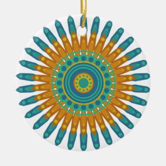 Pretty Mandala Christmas Ornament