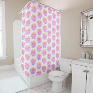 Pretty Mandala style Shower Curtain