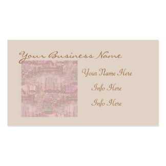 Pretty Merry-Go-Round Horses Pack Of Standard Business Cards
