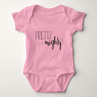 Pretty Mighty Baby Bodysuit