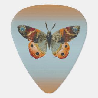 Pretty Monarch Butterfly Autumn Colors Plectrum