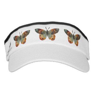 Pretty Monarch Butterfly Autumn Colors Visor