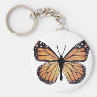 Pretty Monarch Butterfly Key Ring