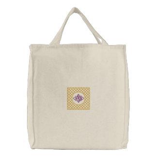 Pretty Monogrammable Tote Bag