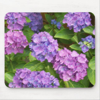 Pretty Mousepad, Pink and Blue Hydrangeas Mouse Mat