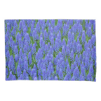 Pretty muscari flowers pillowcase