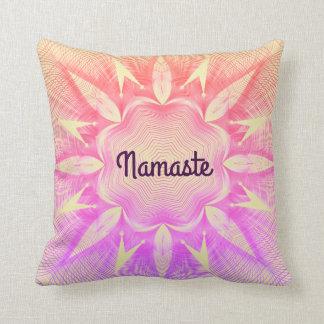 Pretty Namaste Cushion