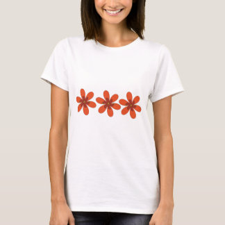 pretty orange flower T-Shirt