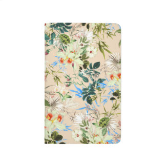 Pretty Oriental Floral/Customizable Photo Template Journal