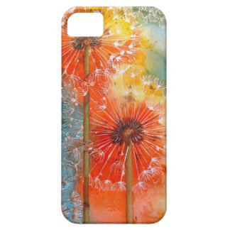 Pretty Painted Dandelion iPhone 5 Cover