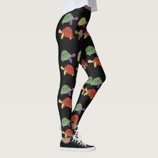 Pretty Painted Turtles Leggings