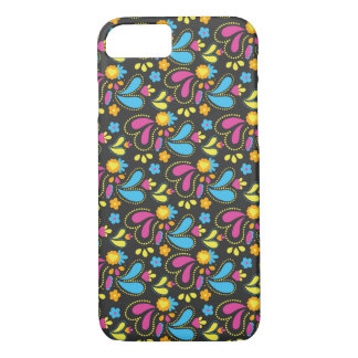 Pretty Paisley Floral Pattern Print iPhone 8/7 Case