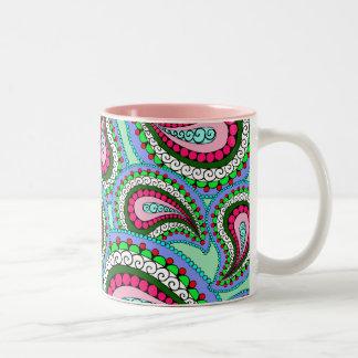 Pretty Paisley Mug