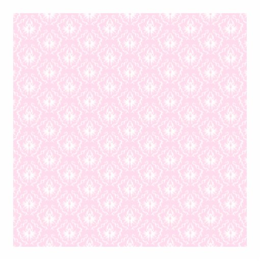 Pretty pale pink damask pattern with white. photo cut out