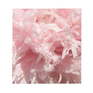 Pretty Pale Pink Poppy Notepad