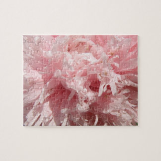 Pretty Pale Pink Poppy Puzzle