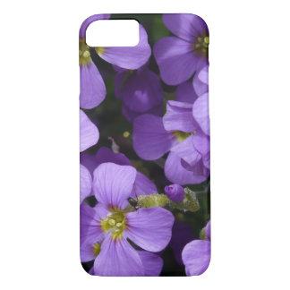 Pretty Pale Purple flowers iPhone 7 Case