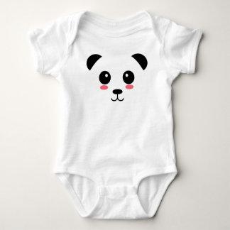 Pretty Panda Baby Bodysuit