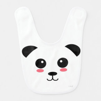 Pretty Panda Bib