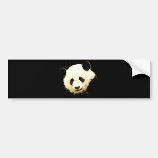 Pretty Panda Bumper Sticker