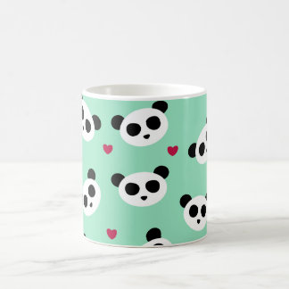 Pretty Panda Pattern Coffee Mug
