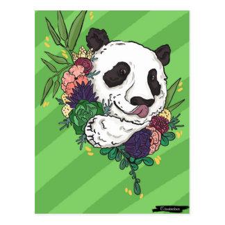Pretty Panda Postcard