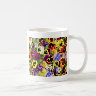 Pretty Pansies Coffee Mug