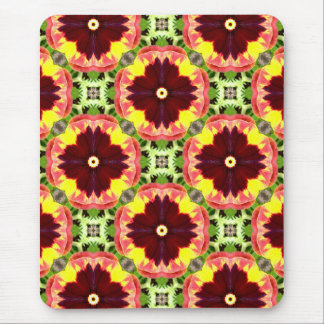 ~ Pretty Pansies Fractal ~ Mouse Mat